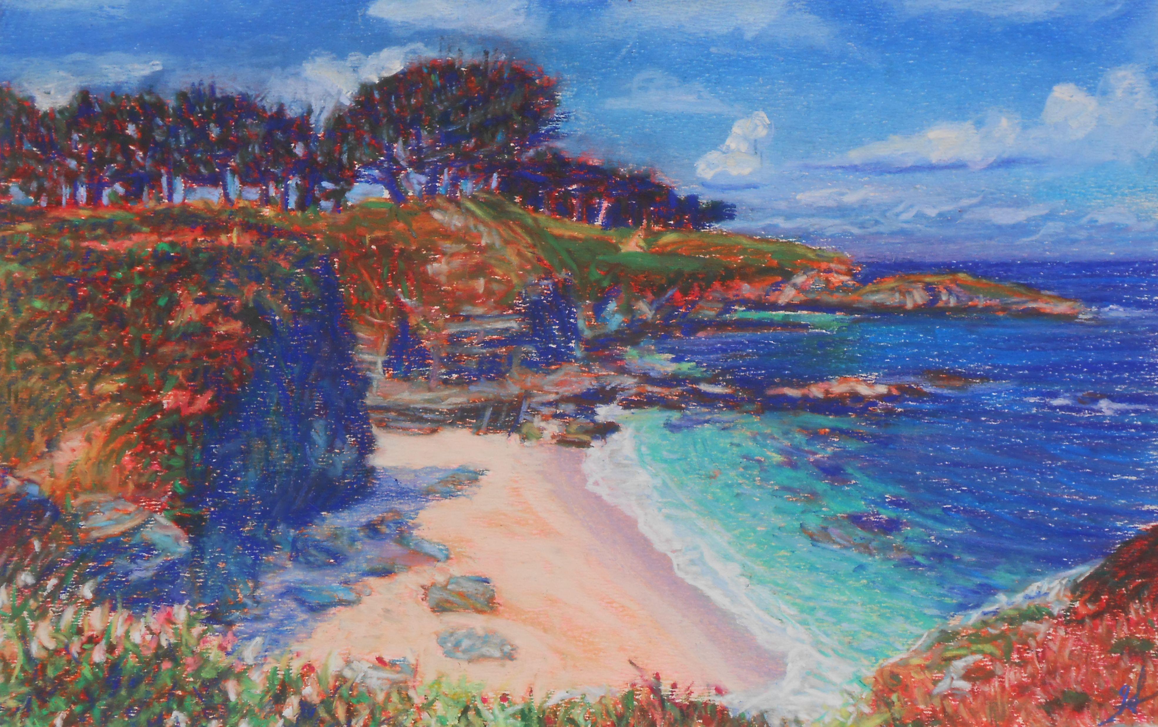 peintures paysages bretons « Gaëlle Guével peintures